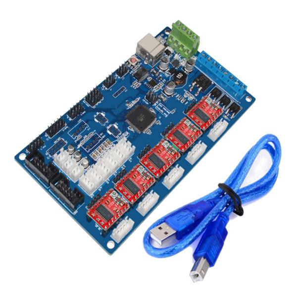 MKS Gen V1.2 3D-skrivare Styrkort med DRV8825 Driver Arduino SCM & 3D-skrivare