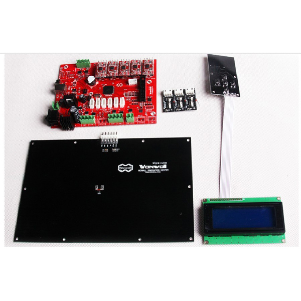 Makerbot / Reprap Four-piece 3D Printer Mainboard Kit Motherboard Set Arduino SCM & 3D Printer Acc