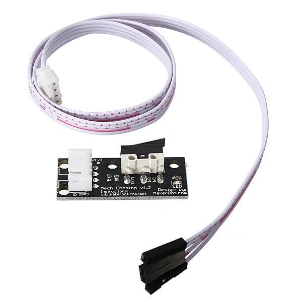 Mech Ändstopp Switch Kit för CNC 3D-skrivare RepRap MakerBot Prusa Mendel RAMPS1.4 Arduino SCM & 3D-skrivare