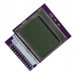 "Mini 1.6"" LCD-modul för Raspberry Pi 2 / B + / B med Bakgrundsbelysning"