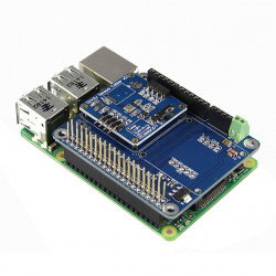 Multi-Function Sensor Expansion Board + 4-i-1 Temperatur + Pressure + Altitude + Light Sensor Modul for Raspberry Pi B + / Arduino