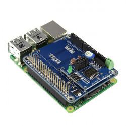 Multi-Function Sensor Expansion Board + AD / DA Shield Modul for Raspberry Pi B + Og Arduino