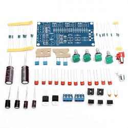 NE5532 Volume Tone Control Board Kit 10 Times Pre-Amp DIY For Audio Amplifier