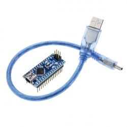 Nano V3.0 ATmega328P AU Mikrocontroller Board mit USB Kabel