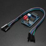 PCF8591 AD / DA-omvandlare Modul Analog till Digital Konvertering med Kabel för Arduino Arduino SCM & 3D-skrivare