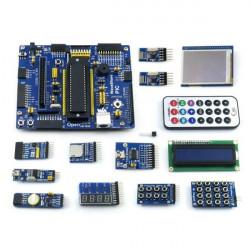 PIC PIC16 PIC16F877A Utvecklingskort Kärna-Board Kit med 13 Modulr