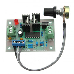 PWM HHO RC DC Motor Speed Regulator Controller Switch Control