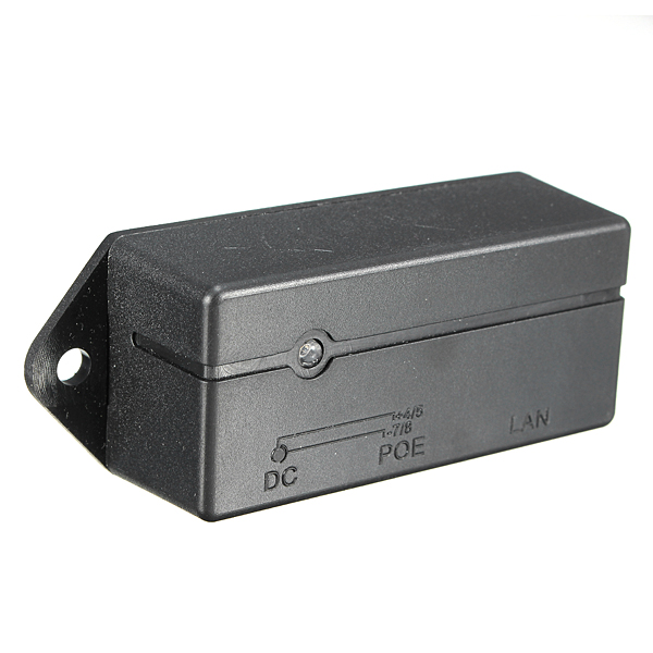 Passiv PoE Injektor Splitter Modul Väggfäste för Mikrotik Tranzeo Arduino SCM & 3D-skrivare