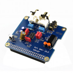 PiFi Digi/DAC+/HIFI Digital Audio Card Pinboard For Raspberry PI B+
