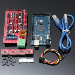RAMP 1.4 + Mega2560 R3 + A4988 Optisk Ändstoppet 3D-skrivare Kit