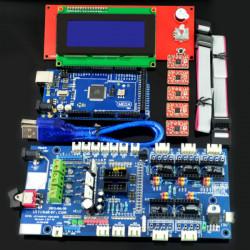 RAMPS 1.57 Control Board LCD 2004 Board Mega 2560 R3 A4988 Driver Kit For 3D Printer
