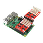 Raspberry Pi 2 Model B + Ubegrænset Cascading IO Expansion Board Arduino SCM & 3D-printer