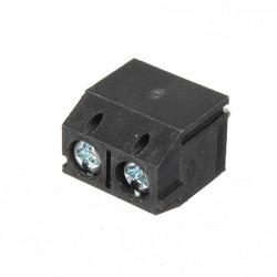 Schrauben Klemmenblock Stecker 2 Pin 5 mm Rastermaß