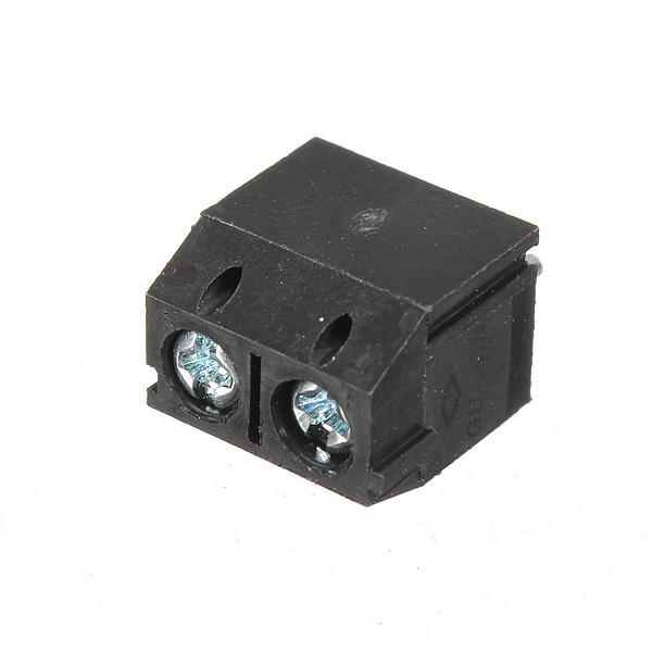Skruvplint Anslutning 2 Pin 5mm Pitch Arduino SCM & 3D-skrivare