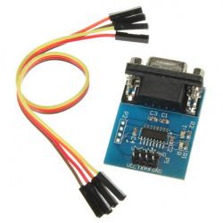 Serial Port til TTL Konverter Modul SP3232EEN 5V / 3.3VW / Jump Kabler