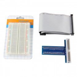 Solderless 400 Point Breadboard + 40Pin Cable + 40Pin GPIO For Raspberry Pi 2 Mode B & Raspberry Pi B+