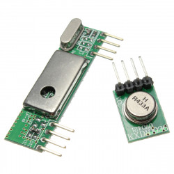Superheterodyne 3400 Radio Receiver Module + 433RF Wireless Transmitter Module