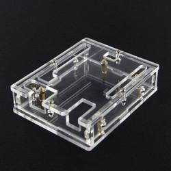Transparent Acrylic Fodral Skal för Arduino UNO R3
