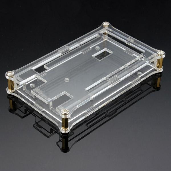 Transparente Acryl Shell Box für Arduino MEGA2560 R3 Modul Brett Arduino SCM & 3D Drucker