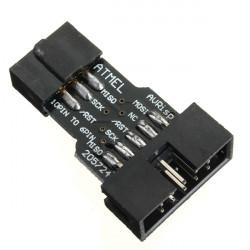 USBASP AVR Programmer 10Pin To 6Pin Converter KK2.0 KK2.1