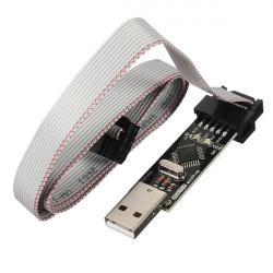 USBASP USBISP 3.3 5V AVR Loader Programmerare med ATMEGA8 ATMEGA128
