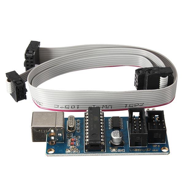 USBtinyISP AVR ISP Programmerare Bootloader USB Hämta Interface Arduino SCM & 3D-skrivare