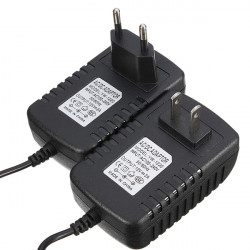 US EU 100-240V Converter Adapter 12V 2A Power Supply For LED Strip