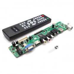 V29 Universal LCD Controller Board TV Motherboard VGA/HDMI/AV/TV/USB Interface