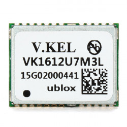 VK1612U7M3L GPS Module UBX-G7020-KT Chip Built-in LNA Signal Amplifier