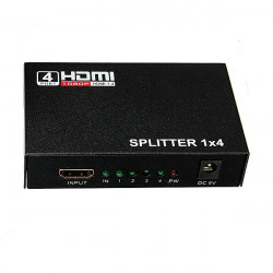1080P 4 Port Splitter Adapter Converter Repeater Video for PC PS3