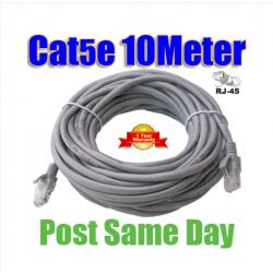 10M 30ft RJ45 Cat5e Cat 5e Cat5 Ethernet-nätverk LAN Patchkabel Lead