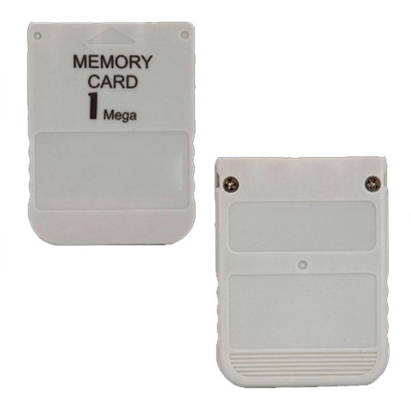 1MB Memory Card For PS1 & PSX Video Games