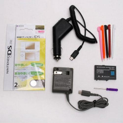 1 Set Accessory Battery Charger Stylus Bundle For NDSL