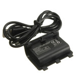 2400mAh Uppladdningsbart Batteri och Kabel för Xbox En Play Charge Kit Tv-spel Tillbehör