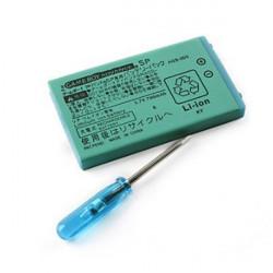 3,7V 700mAh Lithium Ionen Batterie für Gameboy Advance GBA SP