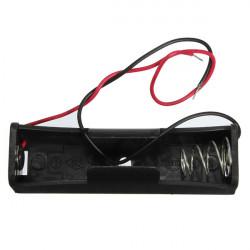 3.7V Einzel 18650 wiederaufladbare Zellen Batterie Speicher Hülle