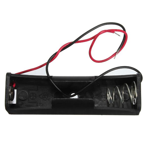3.7V Single 18.650 Uppladdningsbart Cellsbatteriet Förvaringsväska E-Cigaretter & Tillbehör