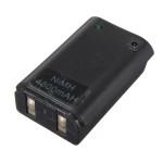 4800mAh Batteri och USB-kabel för XBOX 360 Bekväm Carry-on Travel Tv-spel Tillbehör