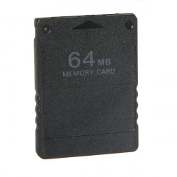 64 MB Memory Card For Playstation 2 PS2