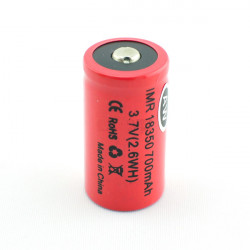 AW IMR 18350 700mAh LiMN High Drain Rechargeable Lithium Battery