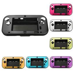 Aluminum Case Cover for Nintendo Wii U Gamepad Remote Controller In 7 Colors Optional