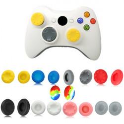 Analog Stick Silikon Grip Cap Knapptäckning för Xbox 360 Kontroller