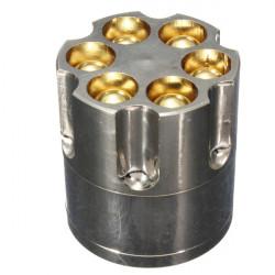 Bullet Metall Herbal Herb Tobak Grinder Smoke Kross Hand Muller