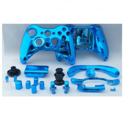 Chrome Plating ABS Protective Shell For XBOX 360 Wireless Controller