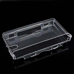 Clear Crystal Hard Case Cover Shell For Nintendo DS Lite DSL NDSL