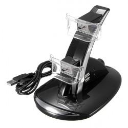 Dual USB Ladestation Ständer für PS3 Drahtlos Controller