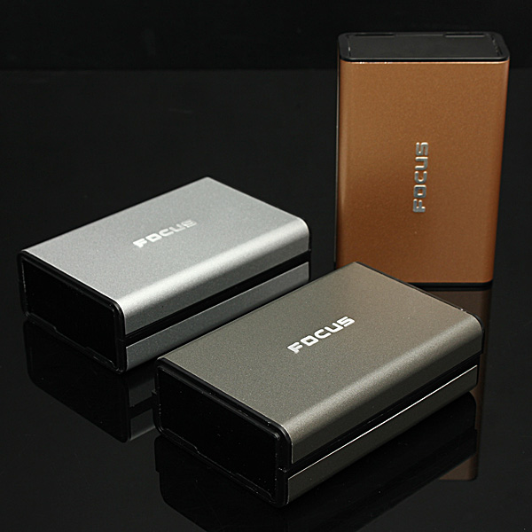 Focus Aluminum 20 Pieces Cigarette Case Flip-open Cover Electronic Cigarette & Acc