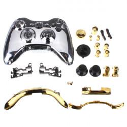 Fuld Shell Cover Taske Og Knap til Xbox 360 Trådløs Controller