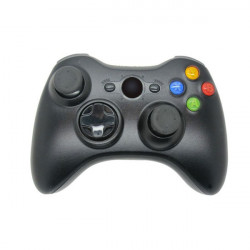 Hochwertige 2,4 GHz Schwarzer drahtloser Spiel Steuerpult Joypad für Xbox 360