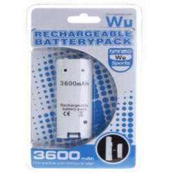 Rechargeable Battery Pack 3600mAh for Nintendo Wii Remote Controller